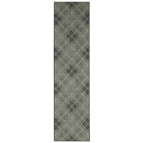 Mohawk Home Grey Russell Plaid Area Rug