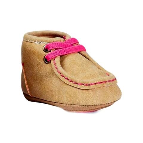 Blazin Roxx Slippers Girls Baby Bucker Reagan Moccasin Tan