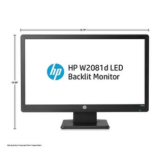 Hp Pavilion W2081d Widescreen LCD Monitor LED LCD Monitor 5 ms