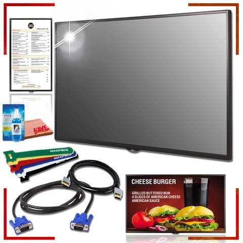 LG SM5KD-Series 32 in-Class Full HD Commercial Smart LED Display Cord Kit