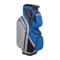 New Ping 2018 Traverse Golf Cart Bag (Silver / Blue) - Silver / Blue