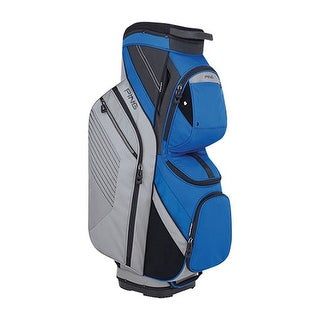 New Ping 2018 Traverse Golf Cart Bag (Silver / Blue) - silver / blue