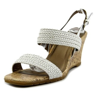 Life Stride Persona  W Open Toe Synthetic  Wedge Sandal