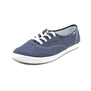 Keds Champion Lace-Up Round Toe Canvas Sneakers