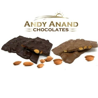 Link to Andy Anand Belgian Chocolate Almond Bark Sugar Free Bridge Gift Box 1 lbs Similar Items in Weight Management