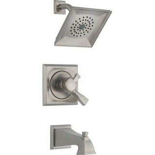 Delta 174930 Dryden Monitor 17 Series Dual Function Pressure Balanced Tub and Shower Trim Package with Integrated Volume Control