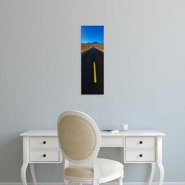 Easy Art Prints Panoramic Images's 'Monument Valley, Utah, USA' Premium Canvas Art