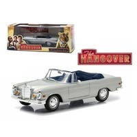 1969 Mercedes 280 SE Convertible Top Down The Hangover Movie (2009) 1/43 Diecast Model Car by Greenlight