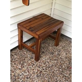 International Caravan Highland 22-inch Garden Bench