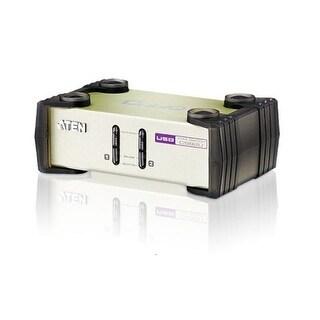 Aten Network Cs82u 2Port Usb/Ps2 Kvm With 2 Cables