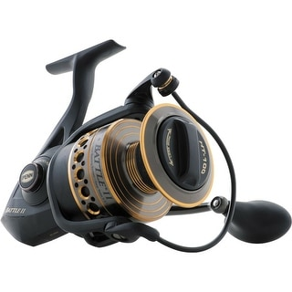 Link to Penn Battle II BTLII2000 Spinning Fishing Reel - Right or Left Hand Retrieve Similar Items in Fishing Rods & Reels