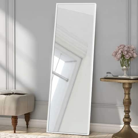 Large Full-length Floor Mirror with Stand
