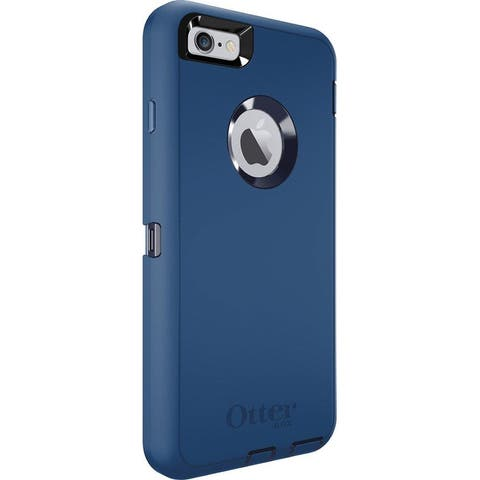 OtterBox Defender Case for iPhone 6s PLUS & iPhone 6 PLUS (No Clip) - Depp Water Blue/Admiral Blue (Seller Refurbished)