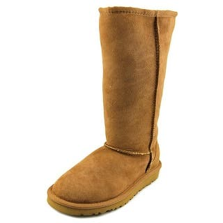 Ugg Australia Classic Tall Round Toe Suede Winter Boot|https://ak1.ostkcdn.com/images/products/is/images/direct/1e9e94990cda3d0a8eb88b58aa575e9e23118871/Ugg-Australia-Classic-Tall-Youth-Round-Toe-Suede-Tan-Winter-Boot.jpg?impolicy=medium
