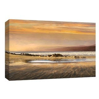 """PTM Images 9-148351  PTM Canvas Collection 8"""" x 10"""" - """"Dusk Tidal Pool"""" Giclee Beaches Art Print on Canvas"""
