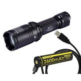 NITECORE EF1 Explosion-Proof Flashlight with USB Rechargeable Battery