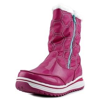 Khombu Kelly Round Toe Synthetic Winter Boot