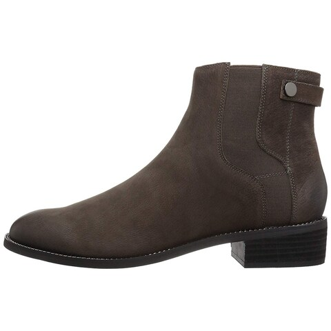 Franco Sarto Womens brandy Leather Closed Toe Mid-Calf Fashion Boots