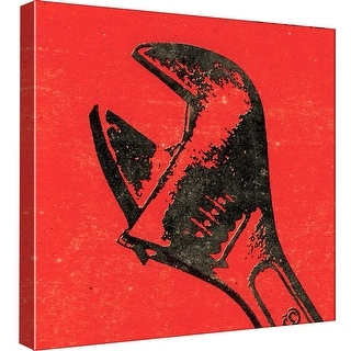 "PTM Images 9-99006  PTM Canvas Collection 12"" x 12"" - ""Wrench"" Giclee Text and Symbols Art Print on Canvas"