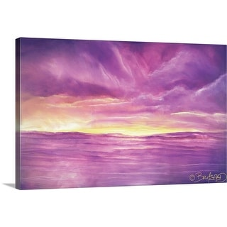 """Riptide"" Canvas Wall Art"