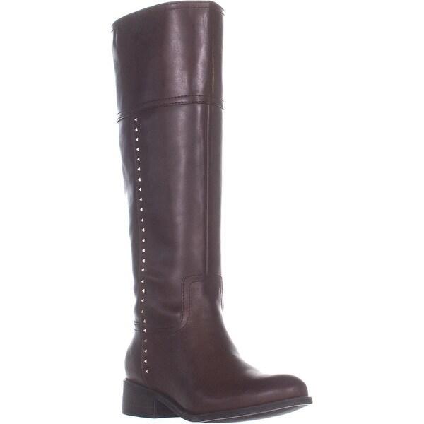 ee45401cf80 Shop Marc Fisher Galaya Wide Calf Knee High Boots, Dark Brown ...