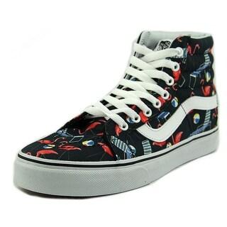 Vans Sk8-Hi Reissue Round Toe Canvas Skate Shoe
