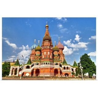"""""""St. Basil's Cathedral"""" Poster Print"""
