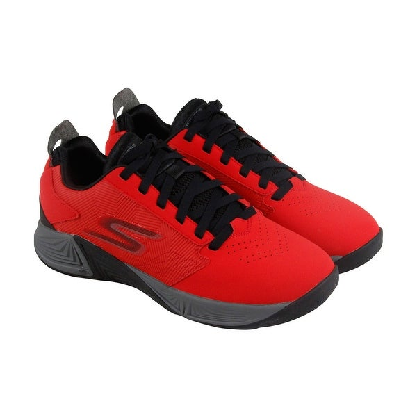 Skechers Gobasketball Torch 2 Mens Red Synthetic AthleticTraining Shoes