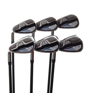 New Cobra Fly-Z XL Irons 7-PW,GW,SW R-Flex Graphite 65g LEFT HANDED