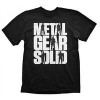 Gaya Novelty Black Metal Gear Solid V Logo T-Shirt