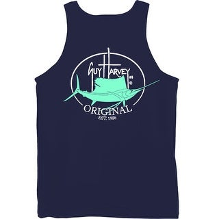 Guy Harvey Mens Original Fin Tank Top