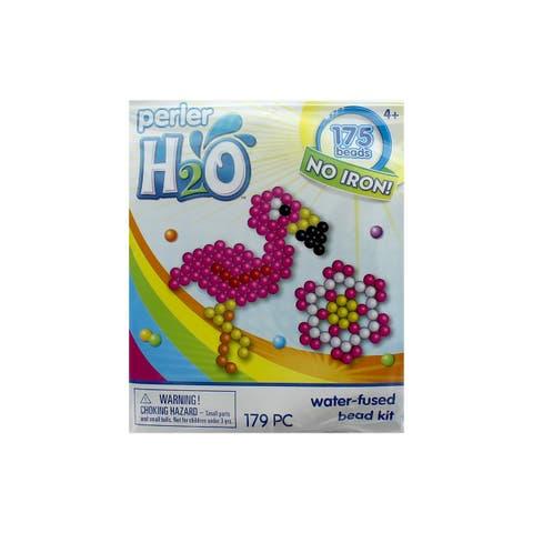 Perler H2O Fused Bead Kit Trial Flamingo & Flower