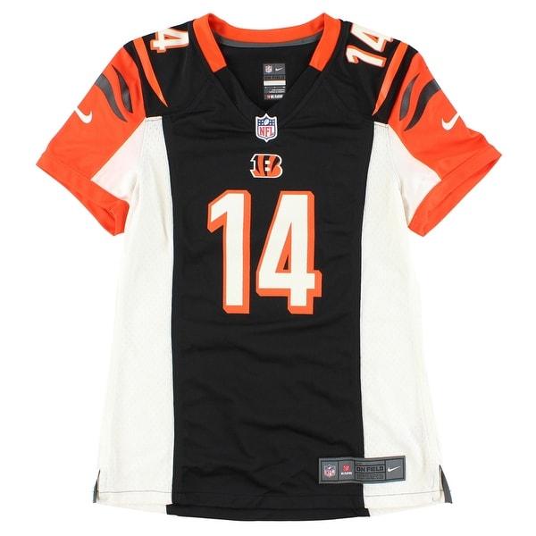 Shop Nike Womens NFL Cincinnati Bengals Andy Dalton Game Jersey Black -  Black Orange White - Free Shipping Today - Overstock.com - 22615345 b32d335cf