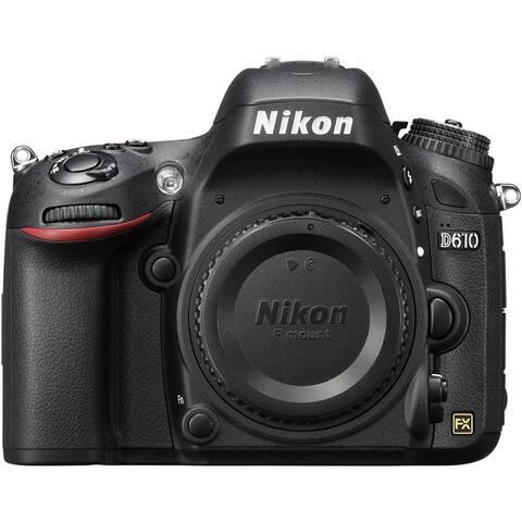 Nikon D610 24.3 MP CMOS FX-Format Digital SLR Camera (Body