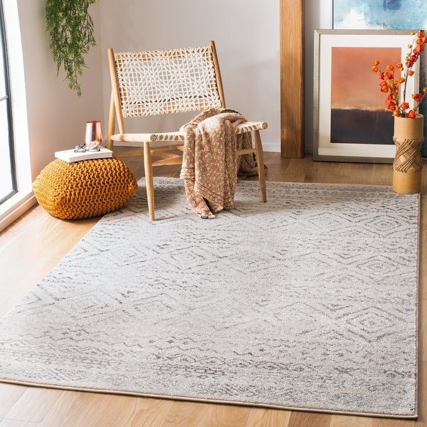 Safavieh Tulum Shima Moroccan Boho Distressed Rug. Opens flyout.