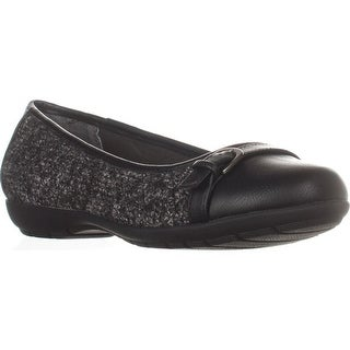 White Mountain Sia Ballet Flats, Black