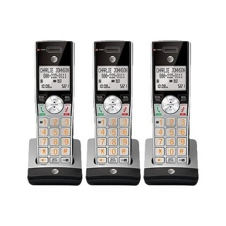 """AT&T CL80115 (3-Pack) Cordless Handset"""