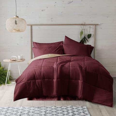 Ultra Reversible Down Alternative Comforter