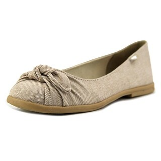 Rocket Dog Jiggy Solvang Women Round Toe Canvas Tan Ballet Flats