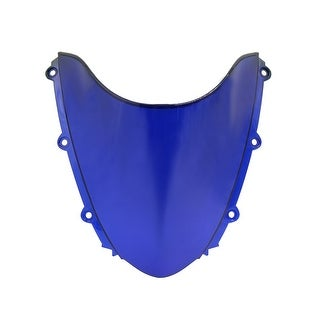 Unique BargainsBlue ABS Plastic Motorcycle Windshield Windscreen For 2004 2007 CBR1000RR