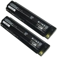 Replacement 4400mAh Battery For HP G50-201CA / G50-213CA Laptop Models (2 Pack)