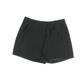 Vince Womens Dress Shorts Crepe Pleated