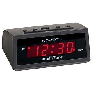 Acu-Rite 13002A1 Digital Alarm Clock, Black