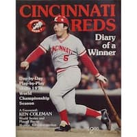 Powers Autographs 66343 Signed 1976 Cincinnati Reds Unsigned Program