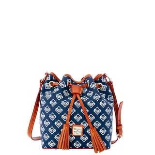 Dooney & Bourke MLB Rays Kendall Crossbody (Introduced by Dooney & Bourke at $228 in Oct 2015) - Navy