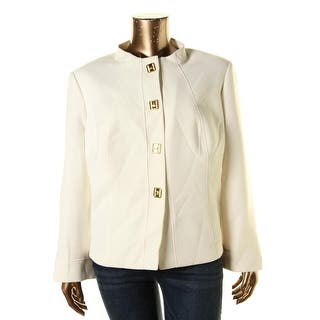 Tahari ASL Womens Plus Four-Button Blazer Long Sleeves Non Vented - 24W https://ak1.ostkcdn.com/images/products/is/images/direct/1ead8d529e0410484aa10cb747ea5b77610b056d/Tahari-ASL-Womens-Plus-Four-Button-Blazer-Long-Sleeves-Non-Vented.jpg?impolicy=medium