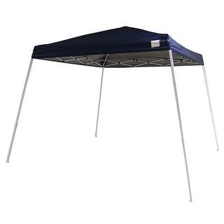 Sunnydaze Quick-Up Slant Leg Canopy 8 Foot x 8 Foot, Multiple Colors