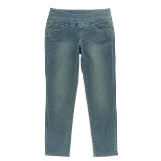 Jag Jeans Womens Amelia High Waist Slim Leg Ankle Jeans - 6
