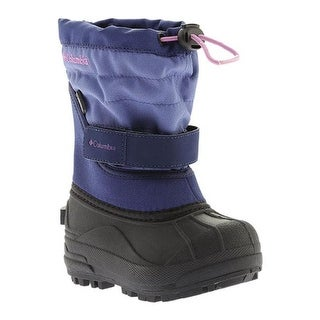 85fae09e9f8 Shop Columbia Children's Powderbug Plus II Boot Eve/Northern Lights - Free  Shipping On Orders Over $45 - Overstock - 18915904