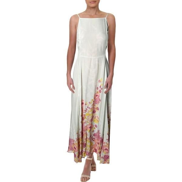 57ec63d621cba Shop Free People Womens Embrace It Maxi Dress Halter Floral Print ...